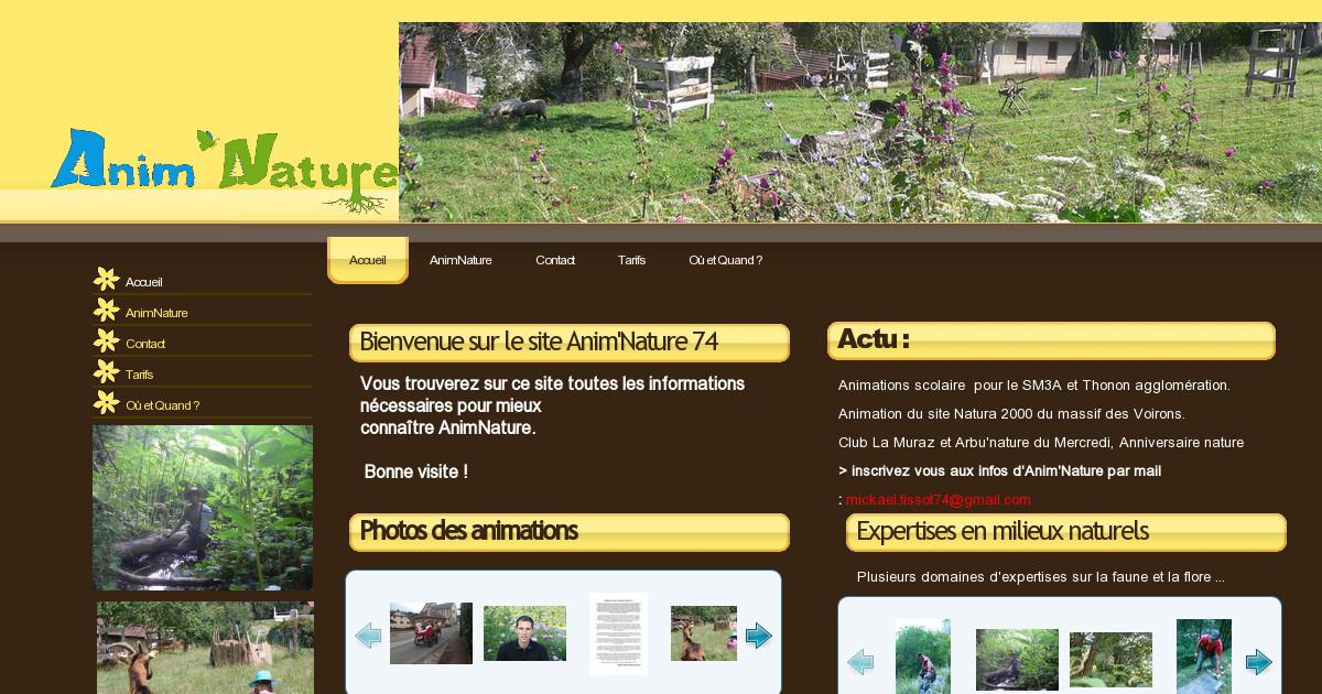 Anim 39 nature haute savoie accueil - Office du tourisme la roche sur foron ...
